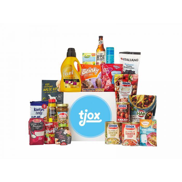 Vakantiebox t.w.v. €33,95 voor €14,95 + gratis bezorgd @ Tjox