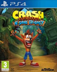 Crash Bandicoot N Sane Triology (PS4) voor €35,99 @ ToyChamp