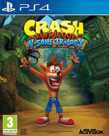 Crash Bandicoot N Sane Triology (PS4) voor €35,99 @ ToyChamp