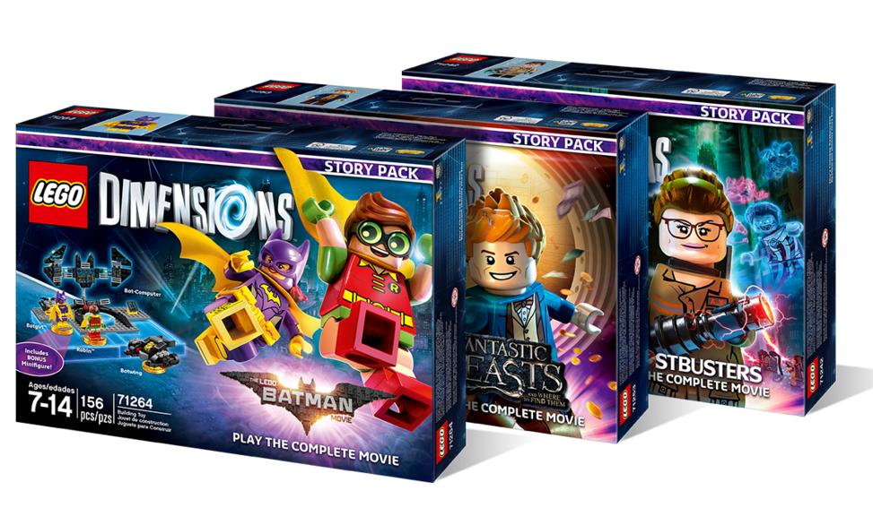 LEGO Dimensions: Story Packs voor €21,98 @ GameMania