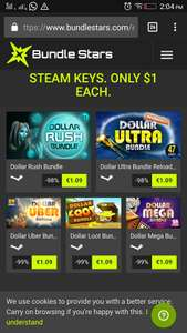 157 steam keys for $5