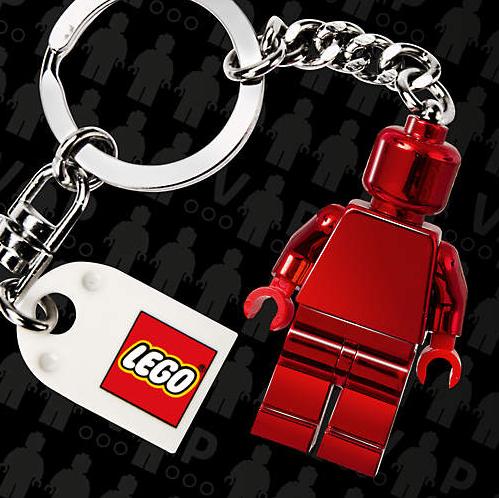 Gratis LEGO VIP sleutelhanger bij aanmelden LEGO VIP programma bij je volgende aankoop @ Lego.com