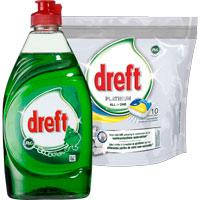 10 Dreft Platinum Lemon vaatwastabletten voor 1 Euro (vanaf woensdag 7/1)