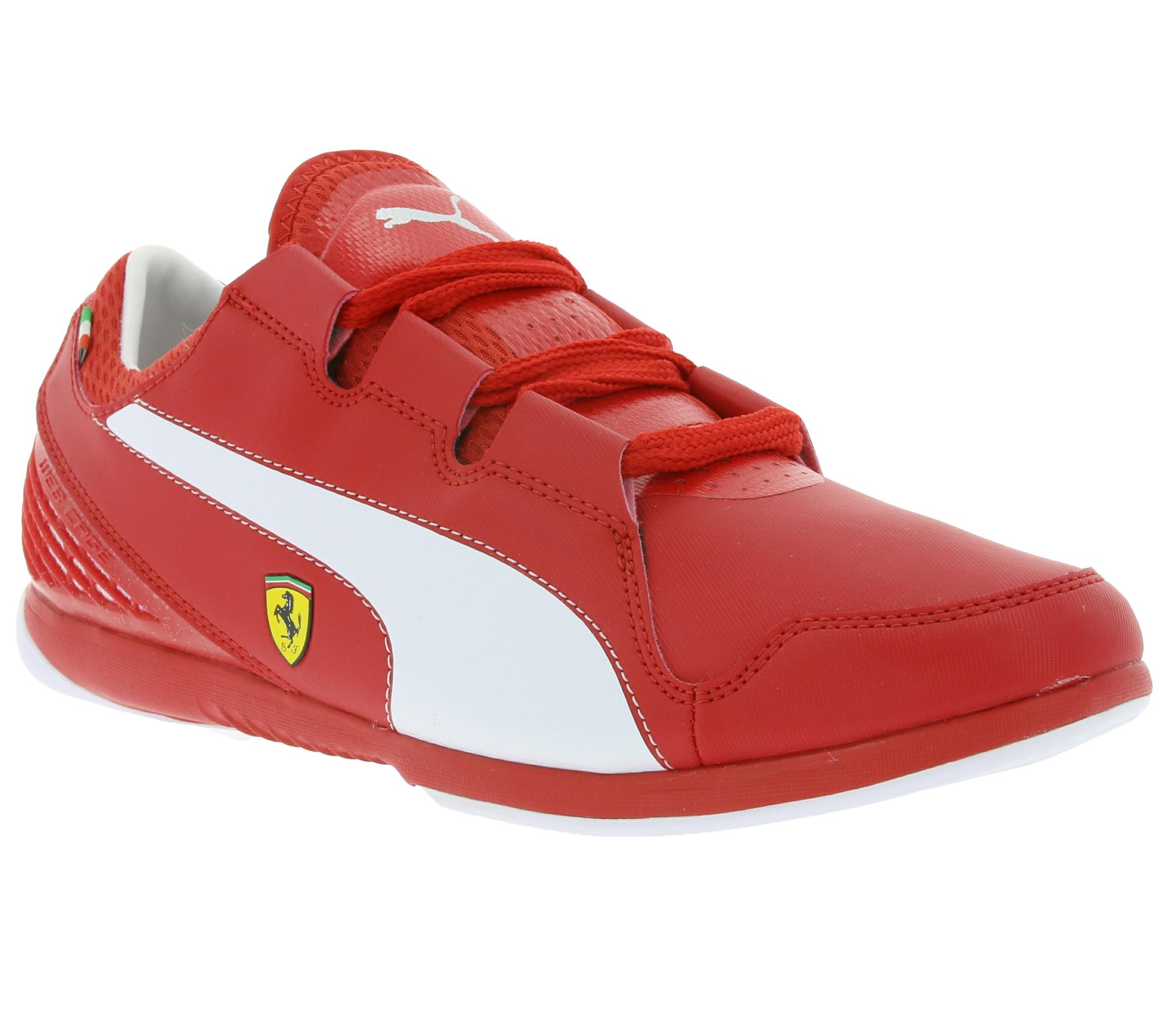 PUMA Valorosso Ferrari sneakers rood mtn 40 t/m 43 @ Outlet46.de