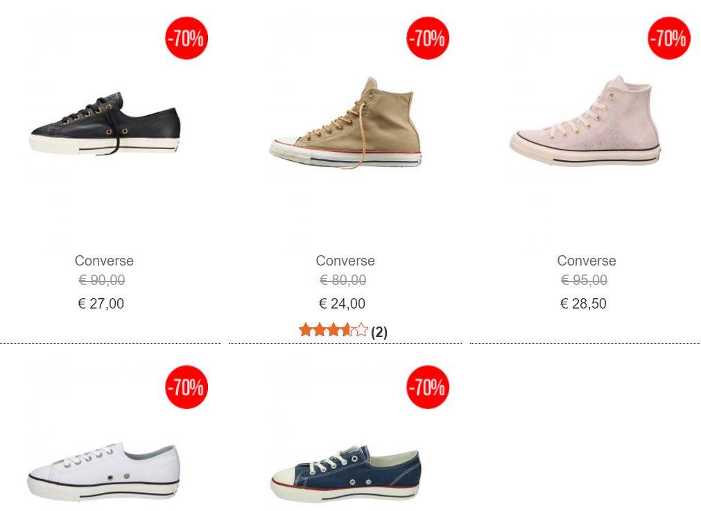Diverse Converse dames sneakers met 70% korting @ ZEB