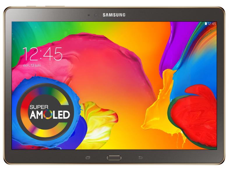 "Samsung Galaxy Tab S 10.5"" 4G + WiFi (Brons) voor €429,- @ Media Markt en Bol.com"