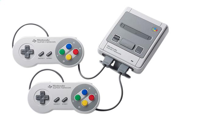 Nintendo console Classic Mini Super Nes afhalen @ DreamLand, Colruyt, OKay België