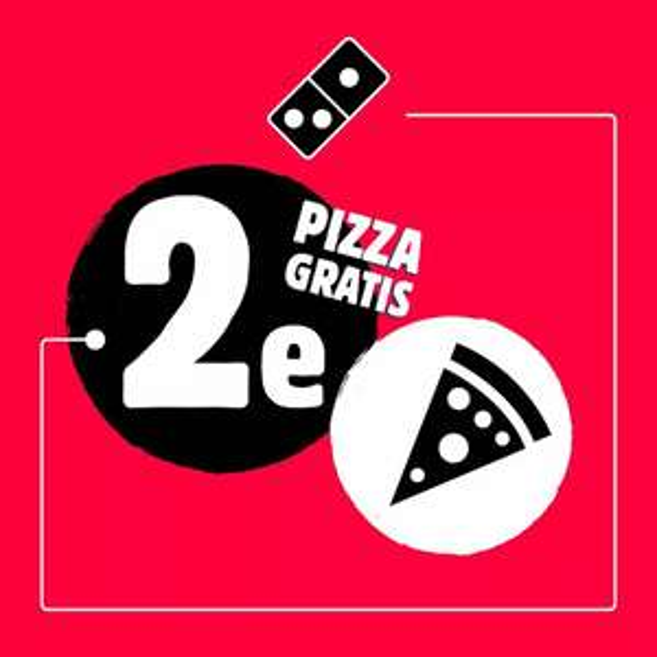 Elke 2e Pizza Gratis @ Domino's Almelo/Hengelo