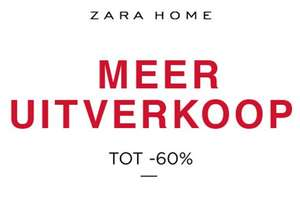 [UPDATE] Sale: 50 - 60% korting @ ZARA HOME