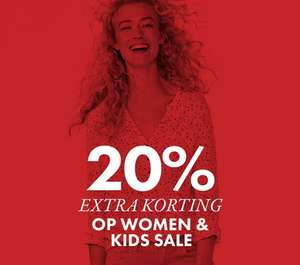 Sale + 20% extra korting op dames + kids sale @ We Fashion