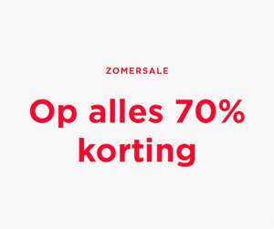 Alle zomersale 70% korting @ Mango Outlet