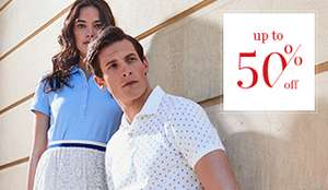 Mcgregor summersale tot 50% korting