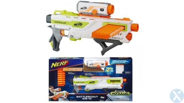 Nerf Modulus Battlescout Tri-Strike Dart Blaster voor €45,95 @ Xolt