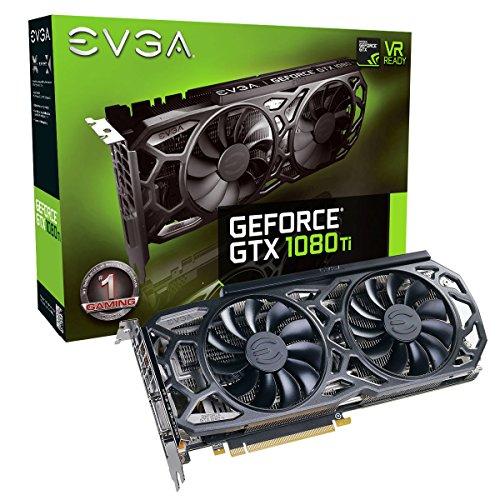 EVGA GeForce GTX 1080 Ti SC Black Edition GAMING (Amazon.uk) voor €698