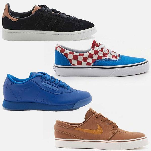 Diverse sneakers (oa adidas, Nike, Vans) hoge kortingen @ Urban Outfitters