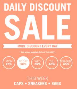 Daily Discount Sale bij Freshcotton