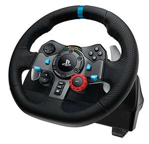 Logitech G29 Driving Force Racing Wheel Zwart (Amazon.uk) voor €154