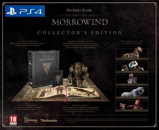 TESO Morrowind Collectors Edition PS4/PC/XBOX