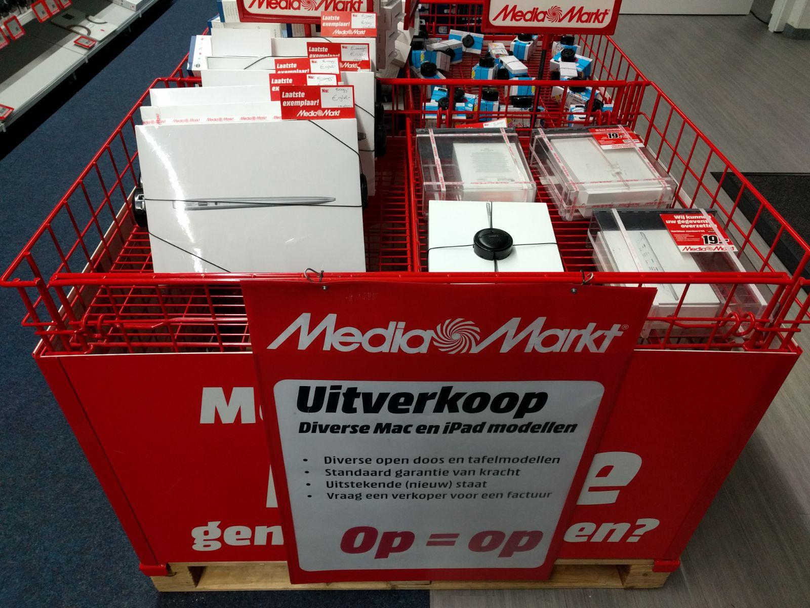 Verschillende Apple Macbooks & iPads @Mediamarkt Amersfoort