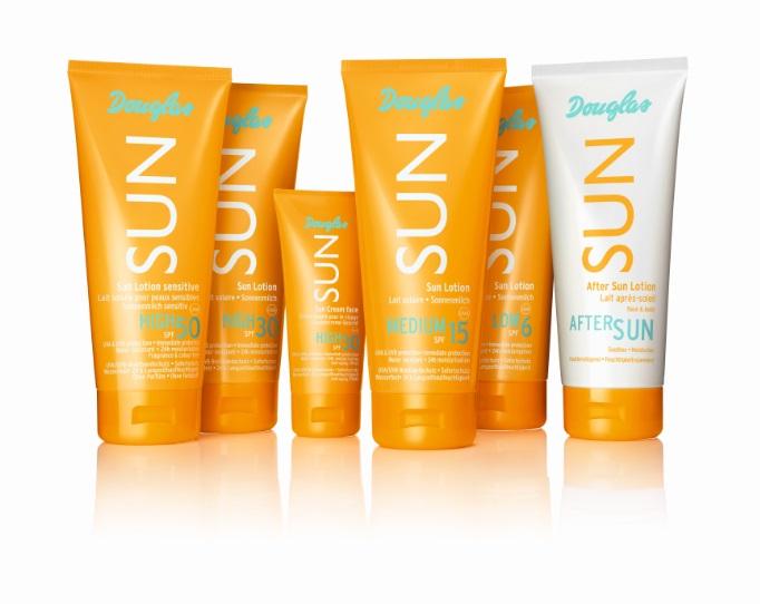 Gratis sample Sun Lotion SPF 30 // Sun Face Cream SPF 30 // After Sun Lotion @ Douglas