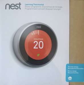 Nest Learning Thermostat V3 voor €189 @ TI-84Shop