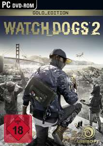 Watch Dogs 2 Gold Edition PC (PS4 & Xbox €38,99) @ Amazon.de