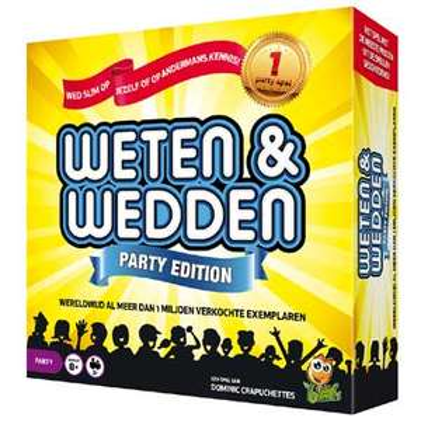 Weten & wedden partyspel voor €12,98 @ Bart Smit
