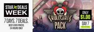 Skullgirls base game + Big Band DLC + Squigly DLC + Color Palette Bundle DLC (Steam) - €0,90 @ Bundle Stars