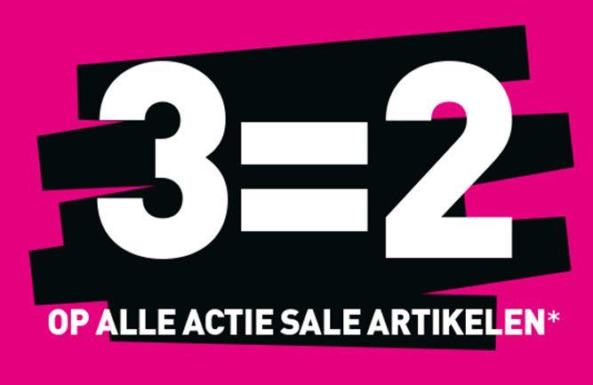 [UPDATE] Sale 3 halen = 2 betalen @ Scapino