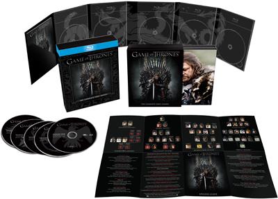Game Of Thrones - Seizoen 1 Blu-ray voor €9,99 @ Media Markt