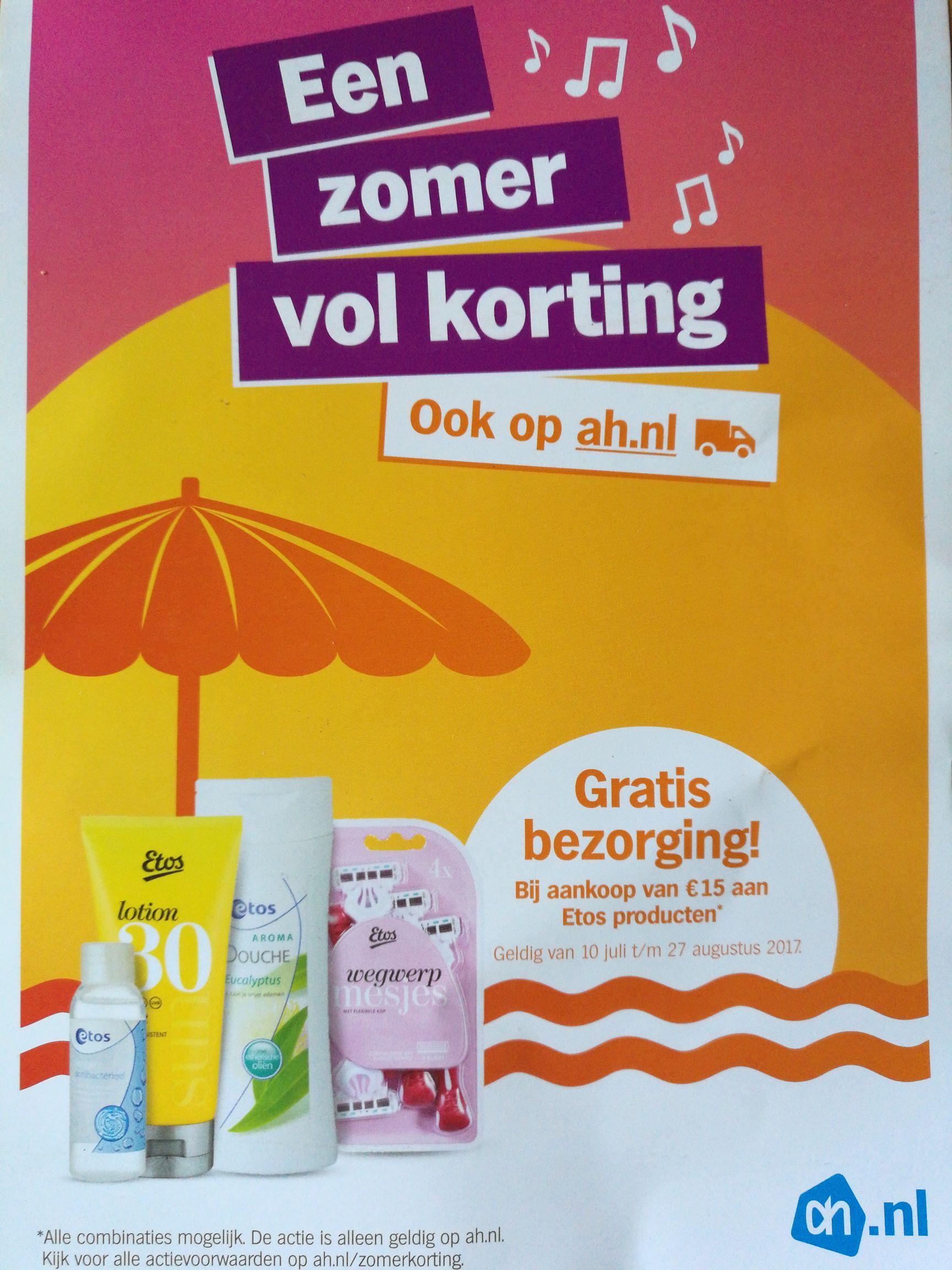 Albert Heijn zomerkorting flyer