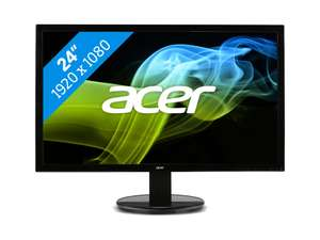 Acer K242HLAbid  24 inch Full HD LED-monitor voor €84,48 @ Bol.com Plaza