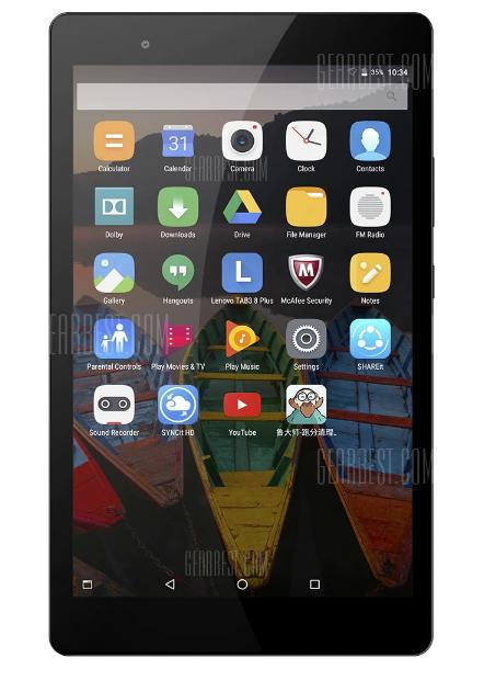 """Lenovo P8 8"""" snapdragon 625 tablet voor €135,88 @ Gearbest"""