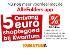 Kwantum 5 euro kortingscode