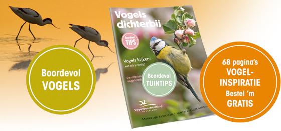 Gratis magazine Vogels Dichterbij @ Vogelbescherming Nederland