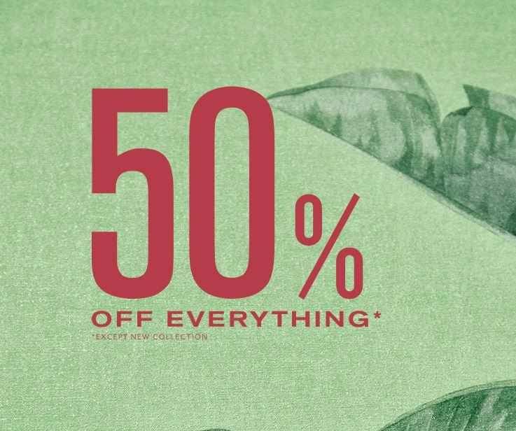 SALE: 50% korting op alles @ Pepe Jeans