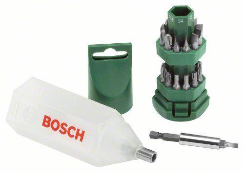 Bosch 25 delige schroevendraaierset /-bitset Promoline € 4.78 @ Amazon.de
