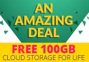 Gratis 100GB Lifetime Cloud Opslag @ Zools