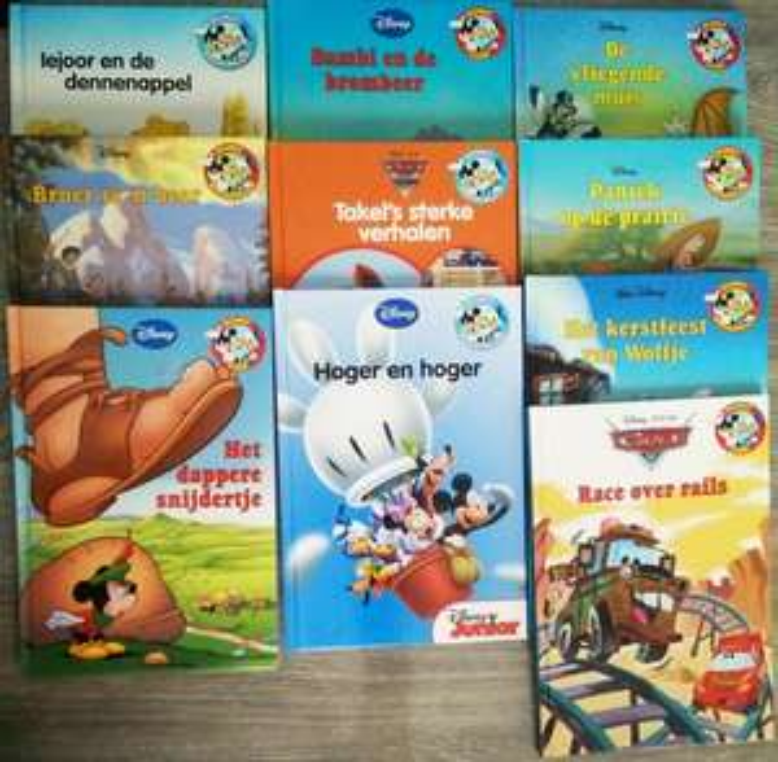 Disney Boekenclub boeken met 85% korting