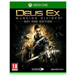 [UPDATE] Deus Ex: Mankind Divided - Day One Edition (Xbox One / PS4) voor €8,95 @ Game.co.uk