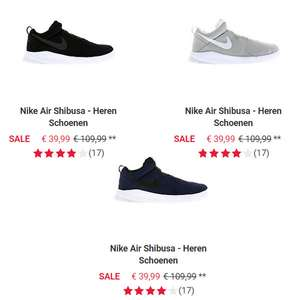 Nike Air Shibusa sneakers €70 korting - nu €39,99 @ Foot Locker