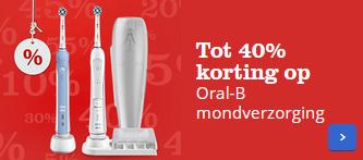 Tot 40% korting op diverse Oral-B producten @ Bol.com