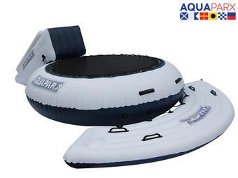 Aquaparx Watertrampoline met glijbaan voor €99,99 + €8,95 @ iBood