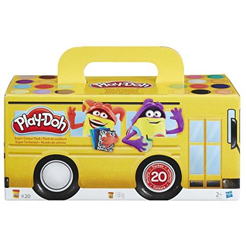 Play-Doh 20 kleuren potjes voor €10,16 @ Amazon.de