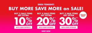 Actie: 10-30% EXTRA korting @ Forever21