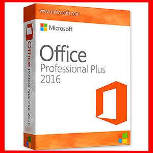 Microsoft Office Professional Plus 2016 product key voor €2,65 op @eBay