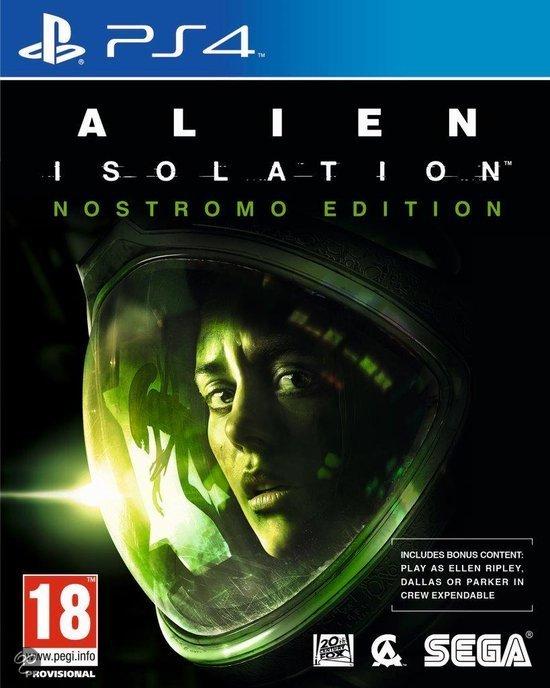 Alien: Isolation - Nostromo Edition (PS4) door code voor €24,55 @ Rakuten.co.uk