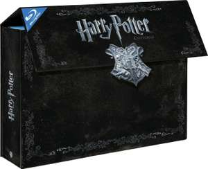 Harry Potter Collection (11 Blu-Rays) voor €32,74 @ Amazon.fr
