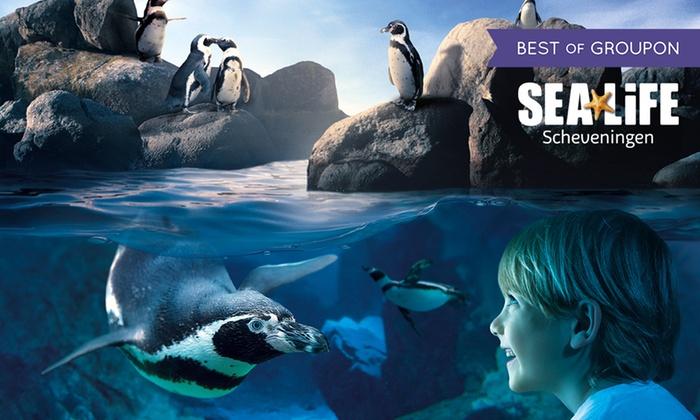 Sea Life Scheveningen vanaf €6,79 @ Groupon
