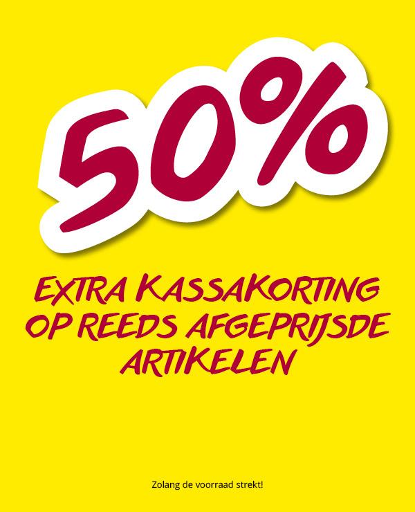 50% extra kassakorting op reeds afgeprijsde artikelen @ Takko